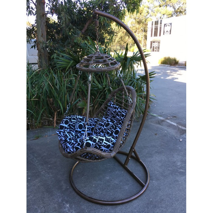 Remarkable New Large Outdoor Hanging Swinging Egg Pod Chair 059 Caraccident5 Cool Chair Designs And Ideas Caraccident5Info