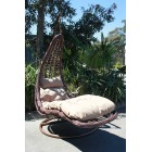 Brand New Large Outdoor Hanging Swinging Egg/Pod Chair 072# - Brown