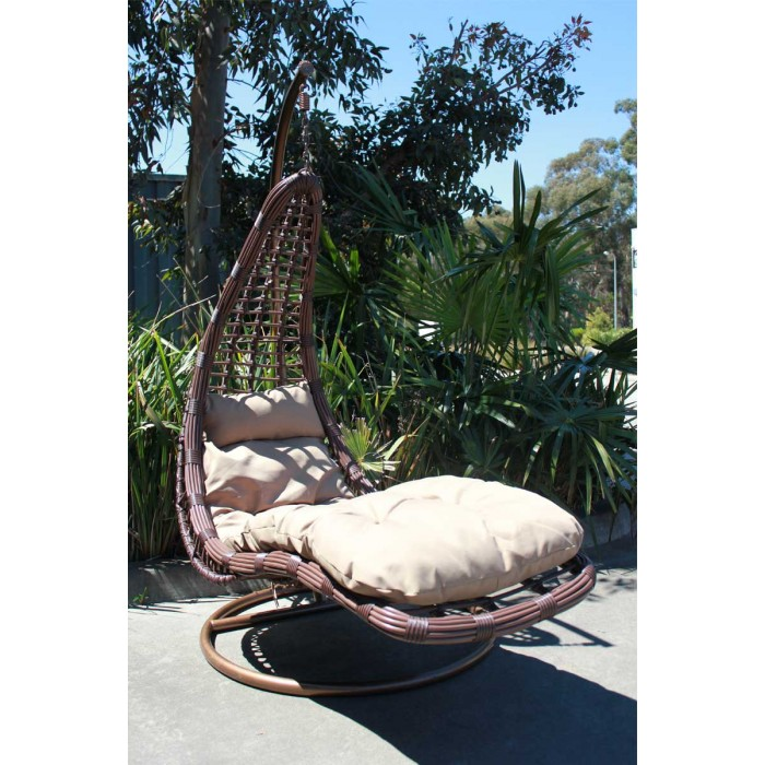 Groovy Brand New Large Outdoor Hanging Swinging Egg Pod Chair 072 Caraccident5 Cool Chair Designs And Ideas Caraccident5Info