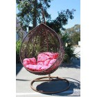New Large Outdoor Hanging Swinging Egg/Pod Chair 086# -Brown
