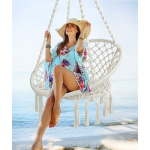 Hammock Chair - Chair + Cushion - Cream