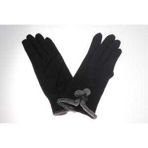 Woollen Ladies Pom Pom Glove