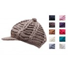 Knitted Baggy Cap