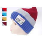 Kids Striped Beanie