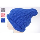Kids Plain Knitted Beanie
