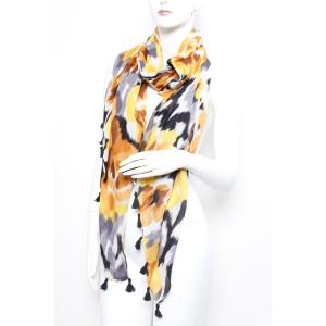 Long Fashion Tassel Scarf A12