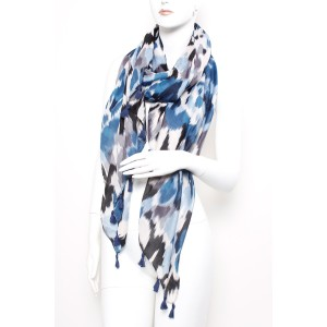 Long Fashion Tassel Scarf A13