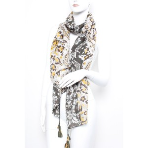 Long Fashion Tassel Scarf A18